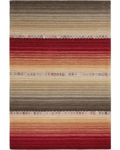 Esposa ORIENTÁLNÍ KOBEREC, 80/200 cm, šedá, červená - šedá, červená
