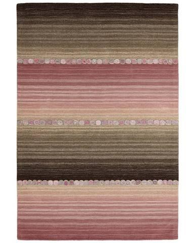 Esposa ORIENTÁLNÍ KOBEREC, 80/200 cm, šedá, pink - šedá, pink