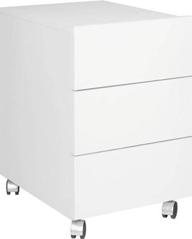 KANC. KONTEJNER NA KOLEČKÁCH, 42/64/53 cm - bílá