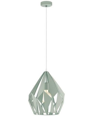 Marama ZÁVĚSNÉ SVÍTIDLO, E27/60 W, 31/150 cm - světle zelená