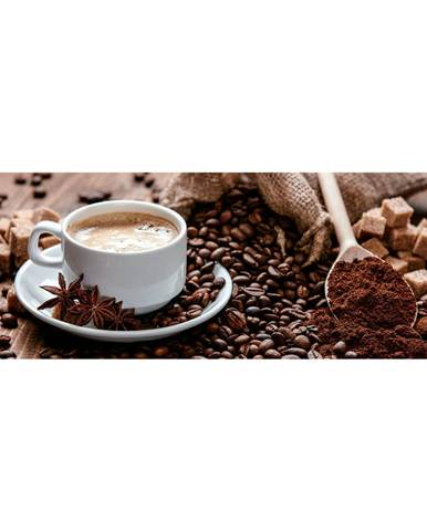 Monee OBRAZ NA SKLE, káva, 80/30 cm - vícebarevná