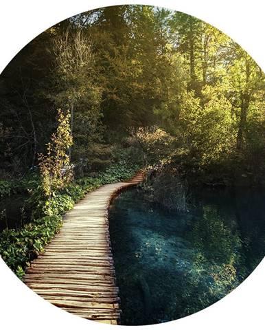 Monee OBRAZ NA SKLE, krajina & příroda, 70 cm - vícebarevná