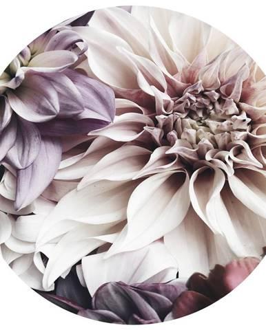Monee OBRAZ NA SKLE, květiny, 70 cm - vícebarevná