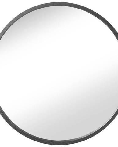 NÁSTĚNNÉ ZRCADLO, 64,5 cm - černá