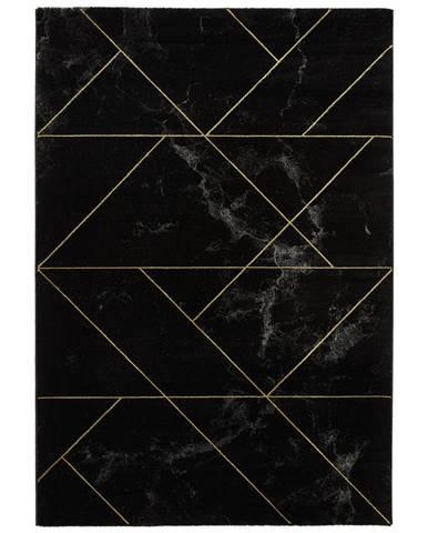 Novel TKANÝ KOBEREC, 120/170 cm, šedá, černá, barvy zlata - šedá, černá, barvy zlata