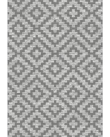 Novel VENKOVNÍ KOBEREC, 160/230 cm, šedá, tmavě šedá - šedá, tmavě šedá