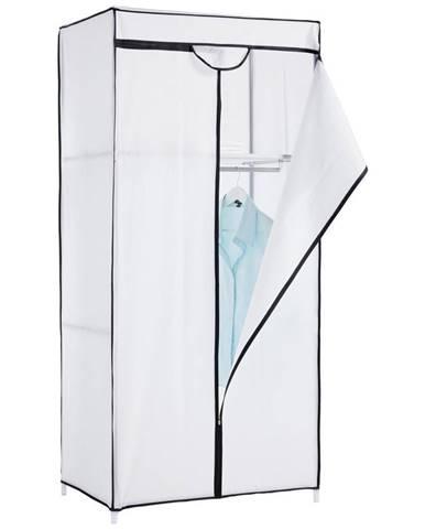 ŠATNÍ SKŘÍŇ, bílá, 75/160/50 cm - bílá
