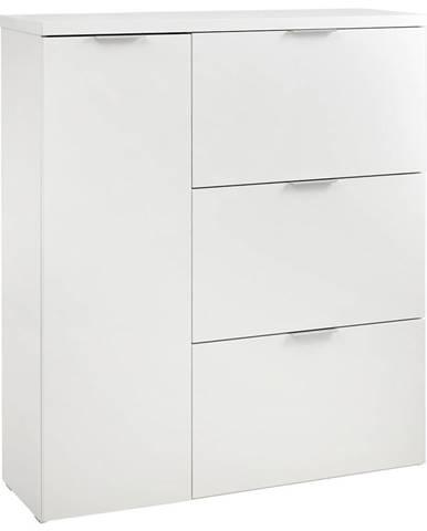 Voleo VYKLÁPĚCÍ BOTNÍK, bílá, 111/125,8/37 cm - bílá