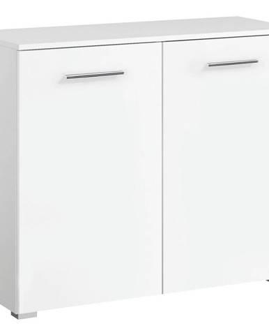 Xora KOMODA, bílá, 93/81/42 cm - bílá