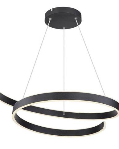 ZÁVĚSNÉ LED SVÍTIDLO, 66/150 cm - černá