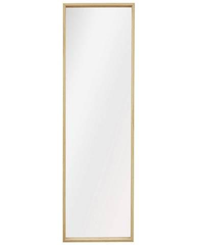 ZRCADLO, 42,5/142,5/5 cm - barvy dubu
