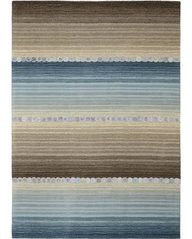 Esposa ORIENTÁLNÍ KOBEREC, 80/200 cm, modrá, šedá - modrá, šedá