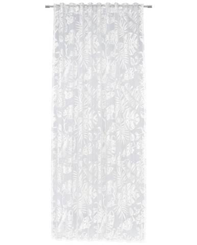 Esposa ZÁVĚS, poloprůhledné, 140/245 cm - bílá