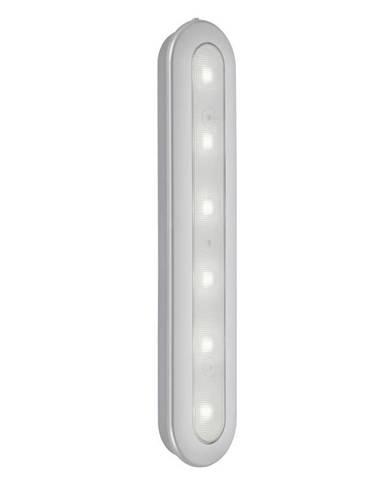 NÁSTĚNNÉ LED SVÍTIDLO, 30,5/6,3/2,6 cm - barvy stříbra