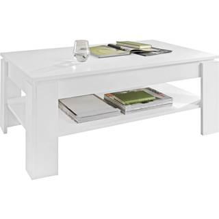 Carryhome KONFERENČNÍ STOLEK, bílá, kompozitní dřevo, 110/65/47 cm - bílá