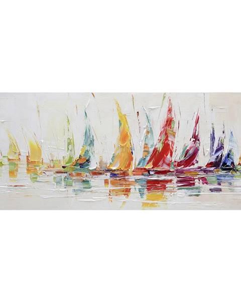 Monee Monee OLEJOMALBA, abstraktní, 180/70 cm - vícebarevná