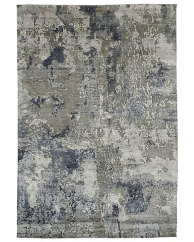 Esposa ORIENTÁLNÍ KOBEREC, 120/180 cm, antracitová, barvy stříbra - antracitová, barvy stříbra