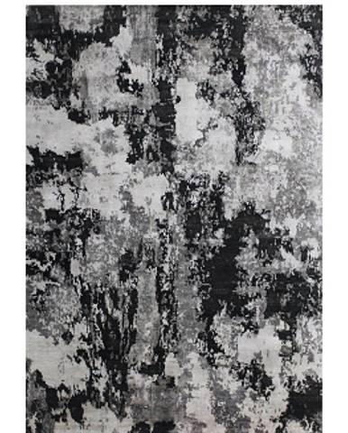 Esposa ORIENTÁLNÍ KOBEREC, 70/140 cm, šedá, černá, bílá - šedá, černá, bílá