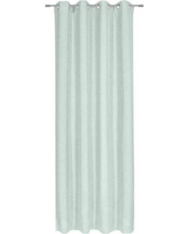 Esposa ZÁVĚS HOTOVÝ, poloprůhledné, 140/245 cm - mátově zelená