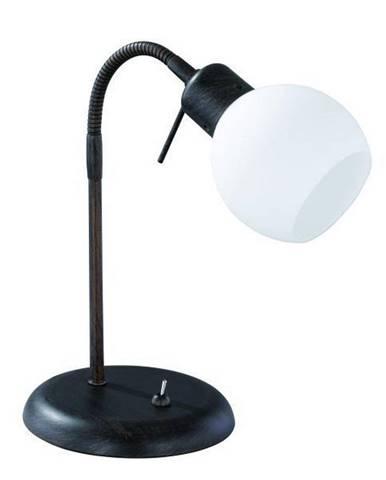 STOLNÍ LAMPA, 15/40 cm - bílá