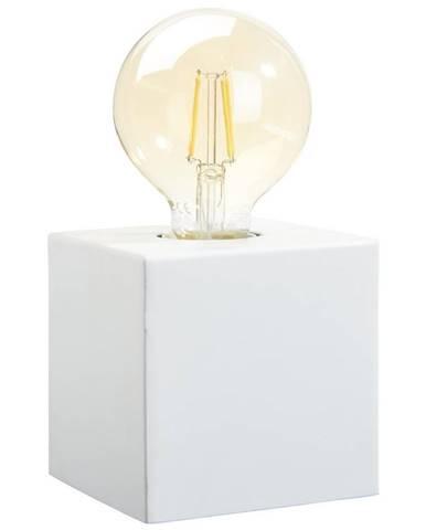 STOLNÍ LAMPA, E27, 10/10/10 cm - bílá