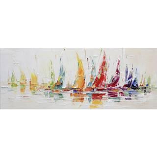 Monee OLEJOMALBA, abstraktní, 180/70 cm - vícebarevná