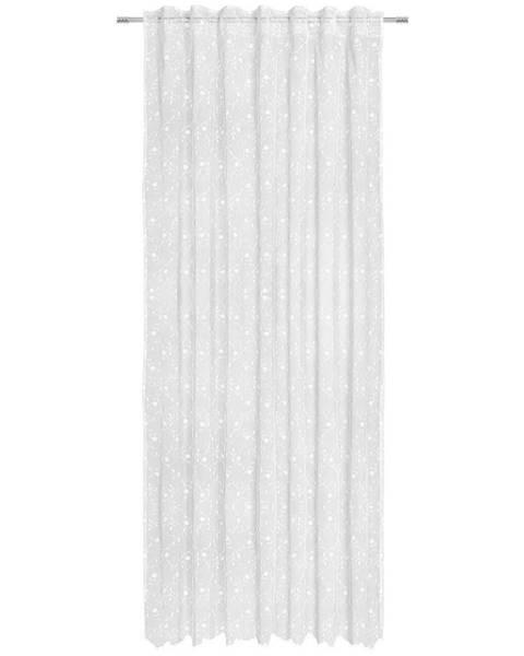 Landscape Landscape HOTOVÝ ZÁVĚS, průhledné, 140/245 cm - bílá