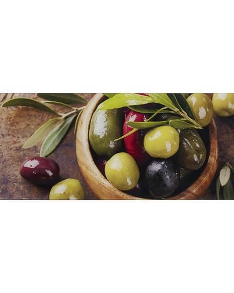 Monee Monee OBRAZ NA SKLE, jídlo & pití, 80/30 cm - vícebarevná