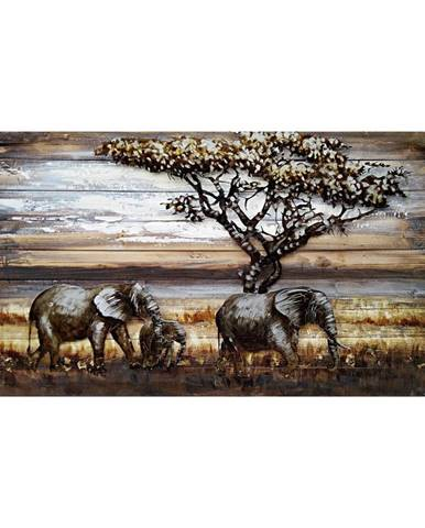 Monee OLEJOMALBA, zvířata, 120/70 cm - vícebarevná