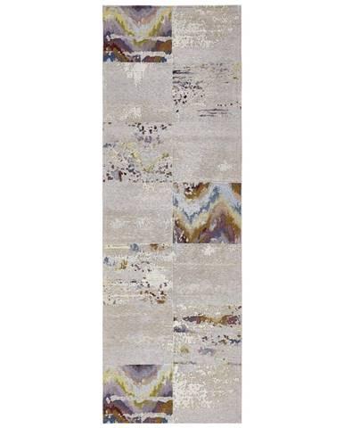 Novel VINTAGE KOBEREC, 80/250 cm, šedá - šedá