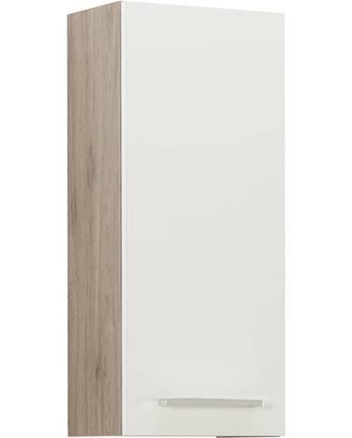 Xora ZÁVĚSNÁ SKŘÍŇKA, barvy dubu - bílá