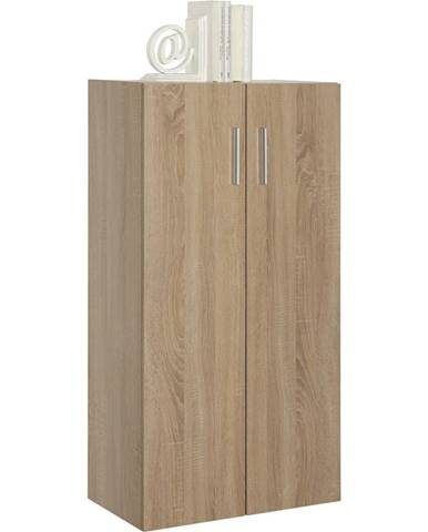 Carryhome KOMODA, barvy dubu, 60/115,2/33,6 cm - barvy dubu