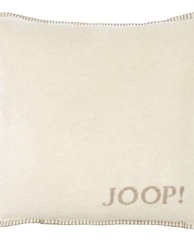 Joop! POTAH NA POLŠTÁŘ 50/50 cm - přírodní barvy, pískové barvy