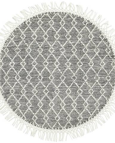 Linea Natura RUČNĚ TKANÝ KOBEREC, 120 cm, bílá, béžová - bílá, béžová