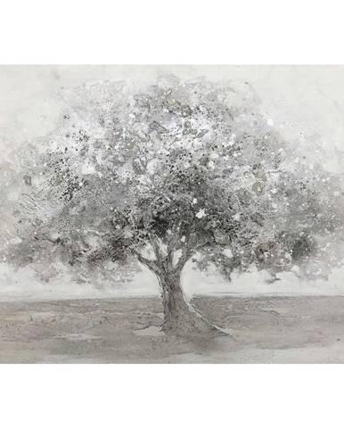 Monee OLEJOMALBA, stromy, 70/100 cm - šedá, bílá