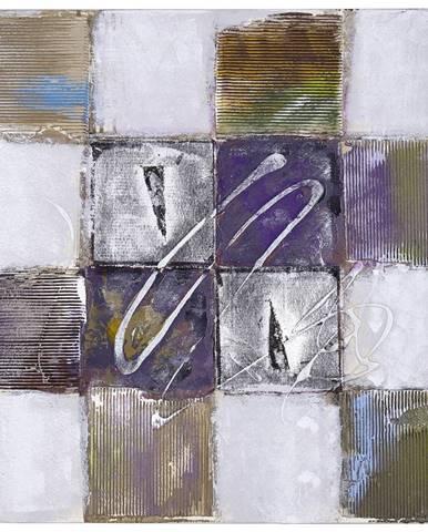 Monee OLEJOMALBA, struktury, 60/60 cm - vícebarevná