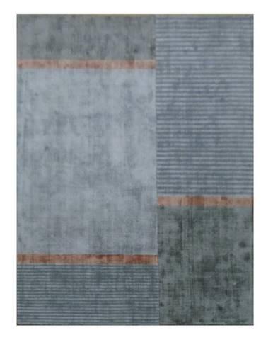 Novel TKANÝ KOBEREC, 130/190 cm, barvy stříbra - barvy stříbra