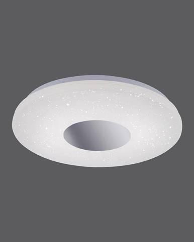 STROPNÍ LED SVÍTIDLO, 38,5/7 cm - bílá, barvy chromu