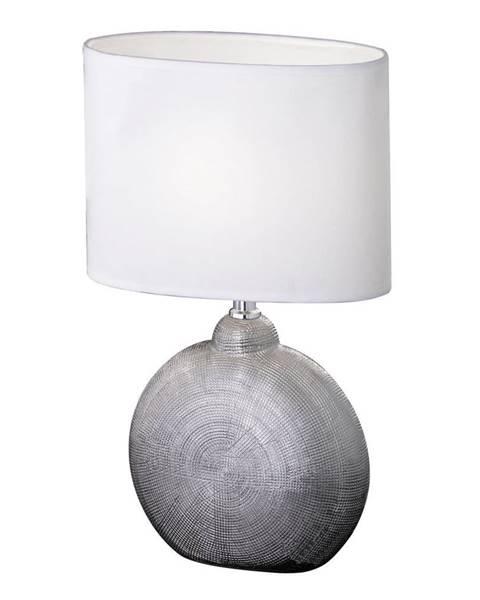 Xora Xora STOLNÍ LAMPA, E14, 23/13/36 cm - bílá, barvy chromu