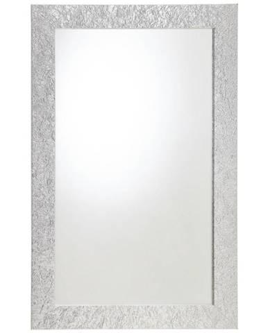 Carryhome NÁSTĚNNÉ ZRCADLO, 70/110/2,8 cm - barvy stříbra