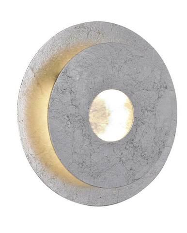 NÁSTĚNNÉ LED SVÍTIDLO, 18/6,7/18 cm - barvy stříbra