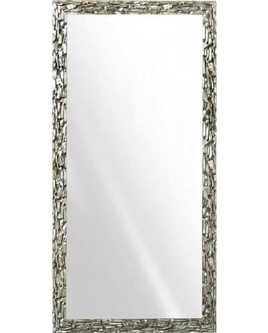 NÁSTĚNNÉ ZRCADLO, 95/195/4 cm, - barvy stříbra