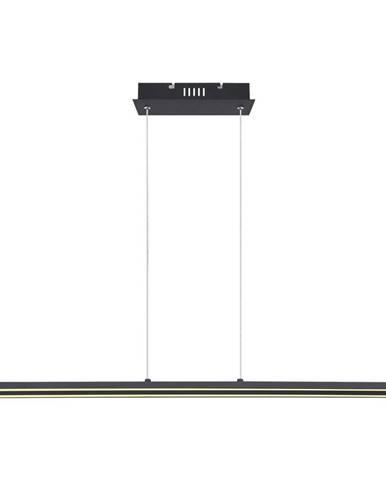 Novel ZÁVĚSNÉ LED SVÍTIDLO, 101/8/120 cm - černá