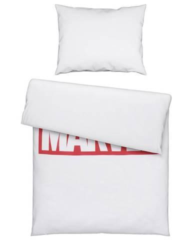 POVLEČENÍ, renforcé, červená, bílá, 140/200 cm - červená, bílá