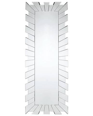 Xora NÁSTĚNNÉ ZRCADLO, 60/160/2 cm - barvy stříbra