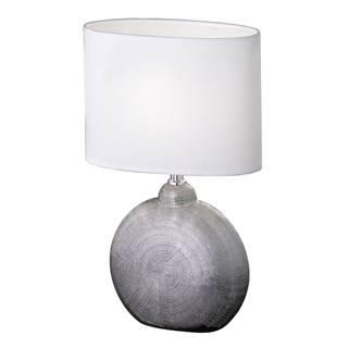 Xora STOLNÍ LAMPA, E14, 23/13/36 cm - bílá, barvy chromu