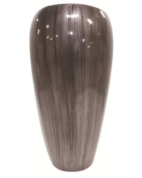 Ambia Home Ambia Home KVĚTINÁČ, plast, 35,5/66 cm - barvy stříbra