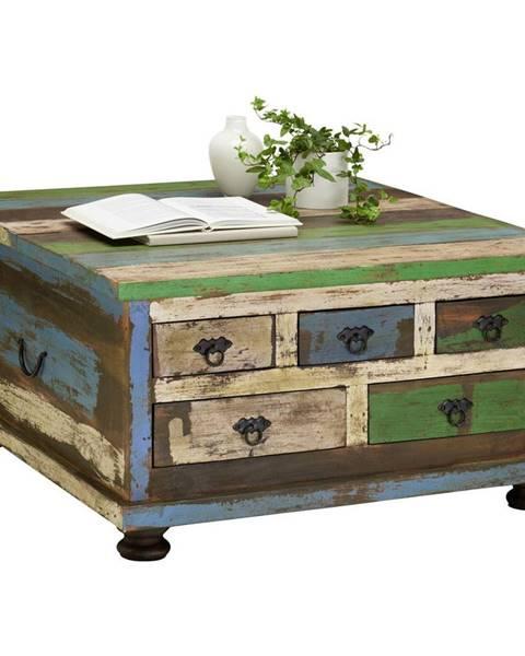 Carryhome Carryhome KONFERENČNÍ STOLEK, vícebarevná, dřevo, kompozitní dřevo, 88/88/47 cm - vícebarevná