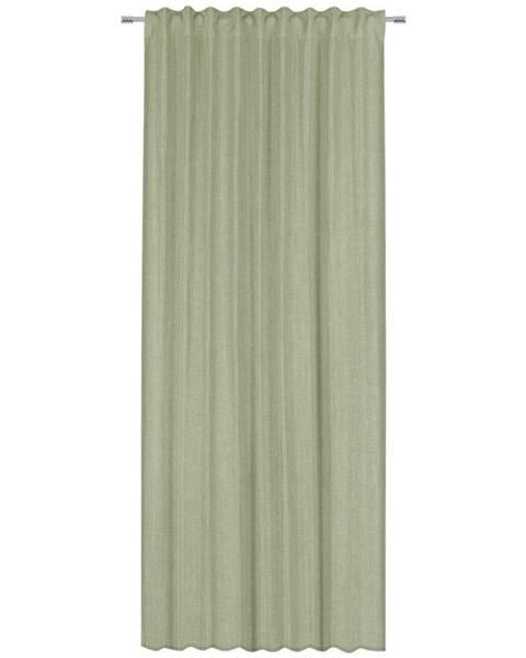 Esposa Esposa HOTOVÝ ZÁVĚS, neprůsvitné, 135/300 cm - zelená