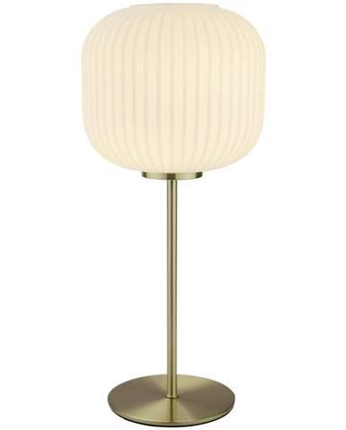 Dieter Knoll STOLNÍ LAMPA, E27, 20/45 cm - opál